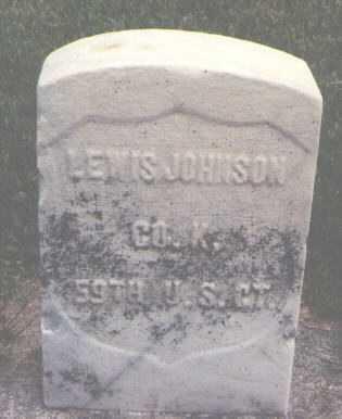 JOHNSON, LEWIS - Boone County, Illinois   LEWIS JOHNSON - Illinois Gravestone Photos