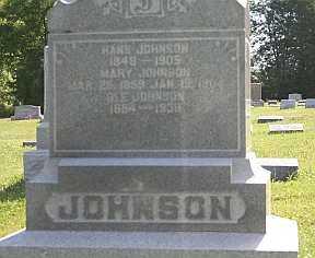 JOHNSON, OLE - Boone County, Illinois | OLE JOHNSON - Illinois Gravestone Photos