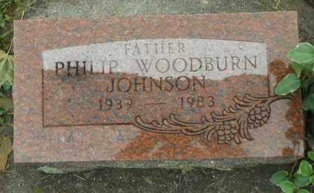 JOHNSON, PHILIP WOODBURN - Boone County, Illinois   PHILIP WOODBURN JOHNSON - Illinois Gravestone Photos