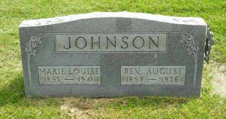 JOHNSON, MARIE LOUISE - Boone County, Illinois | MARIE LOUISE JOHNSON - Illinois Gravestone Photos