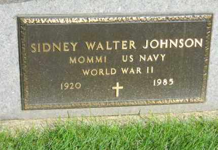 JOHNSON, SIDNEY WALTER - Boone County, Illinois | SIDNEY WALTER JOHNSON - Illinois Gravestone Photos