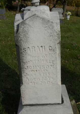 JOHNSON, SARAH C. - Boone County, Illinois   SARAH C. JOHNSON - Illinois Gravestone Photos