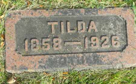 JOHNSON, TILDA - Boone County, Illinois | TILDA JOHNSON - Illinois Gravestone Photos