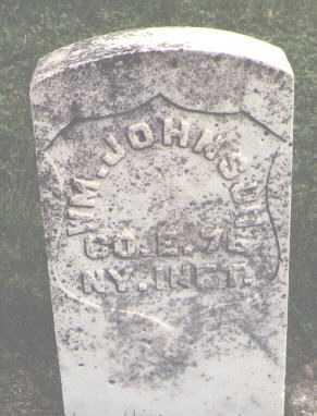 JOHNSON, WILLIAM - Boone County, Illinois | WILLIAM JOHNSON - Illinois Gravestone Photos