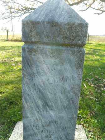 KLUMPH, BENSON - Boone County, Illinois | BENSON KLUMPH - Illinois Gravestone Photos