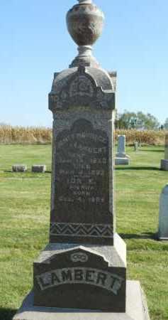 LAMBERT, IDA E. - Boone County, Illinois | IDA E. LAMBERT - Illinois Gravestone Photos