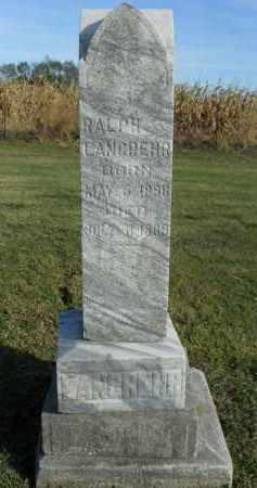 LANGREHR, RALPH - Boone County, Illinois | RALPH LANGREHR - Illinois Gravestone Photos
