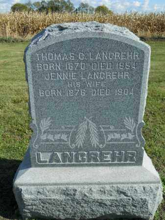 LANGREHR, THOMAS C. - Boone County, Illinois | THOMAS C. LANGREHR - Illinois Gravestone Photos