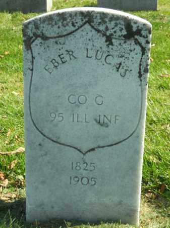 LUCAS, EBER - Boone County, Illinois | EBER LUCAS - Illinois Gravestone Photos