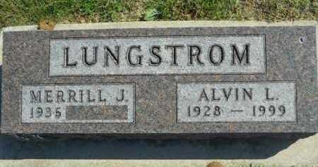 LUNGSTROM, MERRILL J. - Boone County, Illinois | MERRILL J. LUNGSTROM - Illinois Gravestone Photos