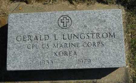 LUNGSTROM, GERALD L. - Boone County, Illinois | GERALD L. LUNGSTROM - Illinois Gravestone Photos
