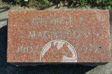 MAGNUSON, GEORGE F. - Boone County, Illinois | GEORGE F. MAGNUSON - Illinois Gravestone Photos