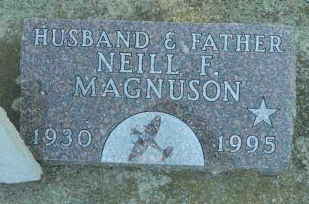 MAGNUSON, NEILL F. - Boone County, Illinois | NEILL F. MAGNUSON - Illinois Gravestone Photos