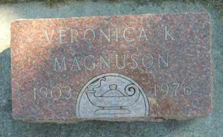 MAGNUSON, VERONICA K. - Boone County, Illinois | VERONICA K. MAGNUSON - Illinois Gravestone Photos