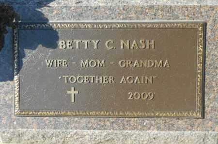NASH, BETTY C. - Boone County, Illinois | BETTY C. NASH - Illinois Gravestone Photos