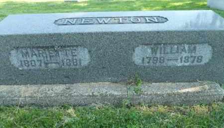 NEWTON, WILLIAM - Boone County, Illinois | WILLIAM NEWTON - Illinois Gravestone Photos