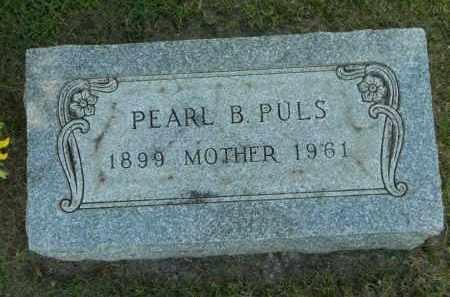 PULS, PEARL B. - Boone County, Illinois | PEARL B. PULS - Illinois Gravestone Photos