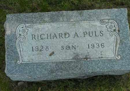 PULS, RICHARD A. - Boone County, Illinois | RICHARD A. PULS - Illinois Gravestone Photos