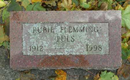 PULS, RUBIE - Boone County, Illinois | RUBIE PULS - Illinois Gravestone Photos