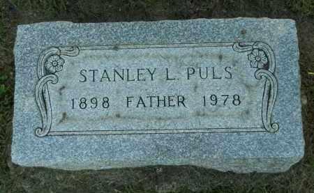 PULS, STANLEY L. - Boone County, Illinois | STANLEY L. PULS - Illinois Gravestone Photos
