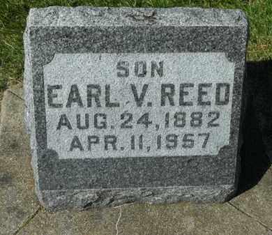 REED, EARL V. - Boone County, Illinois | EARL V. REED - Illinois Gravestone Photos