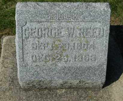 """REED, GEORGE W. """"BUCK"""" - Boone County, Illinois 