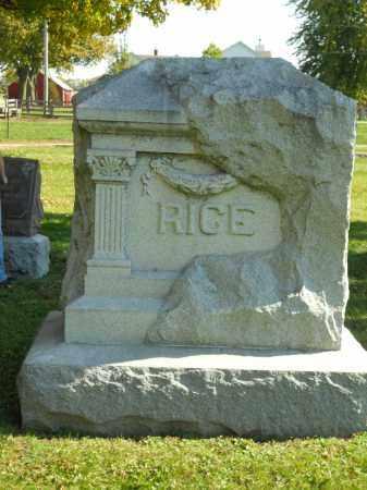 RICE, FAMILY STONE - Boone County, Illinois   FAMILY STONE RICE - Illinois Gravestone Photos