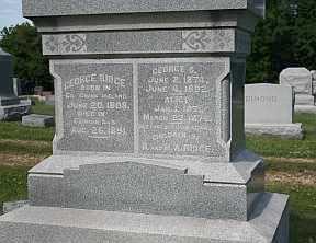 RIDGE, GEORGE S - Boone County, Illinois | GEORGE S RIDGE - Illinois Gravestone Photos