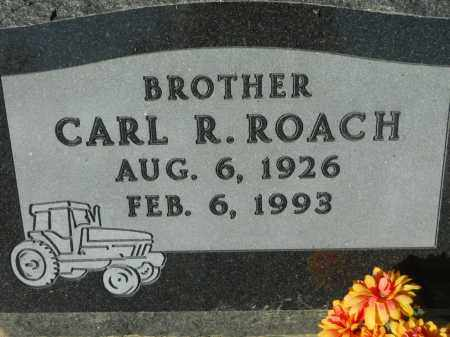 ROACH, CARL R. - Boone County, Illinois | CARL R. ROACH - Illinois Gravestone Photos