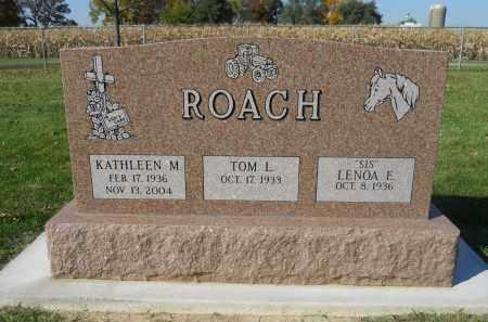 ROACH, TOM L. - Boone County, Illinois   TOM L. ROACH - Illinois Gravestone Photos