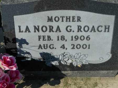 ROACH, LA NORA G. - Boone County, Illinois | LA NORA G. ROACH - Illinois Gravestone Photos