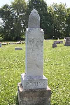 ROBINS, FREDNEY C - Boone County, Illinois | FREDNEY C ROBINS - Illinois Gravestone Photos
