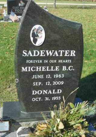 SADEWATER, DONALD - Boone County, Illinois | DONALD SADEWATER - Illinois Gravestone Photos