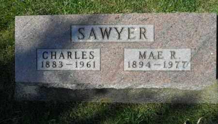 SAWYER, MAE R. - Boone County, Illinois   MAE R. SAWYER - Illinois Gravestone Photos
