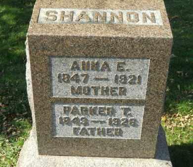 SHANNON, ANNA E. - Boone County, Illinois | ANNA E. SHANNON - Illinois Gravestone Photos