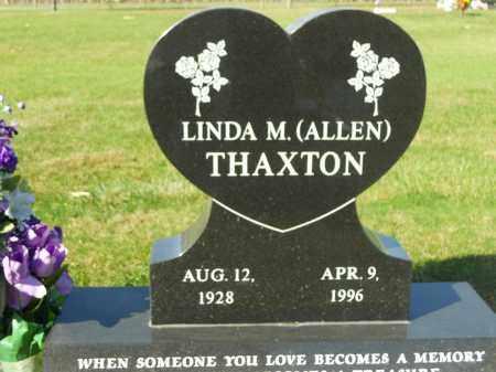 THAXTON, LINDA M. - Boone County, Illinois | LINDA M. THAXTON - Illinois Gravestone Photos
