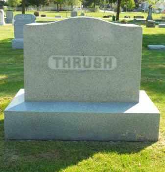 THRUSH, FAMILY STONE - Boone County, Illinois | FAMILY STONE THRUSH - Illinois Gravestone Photos