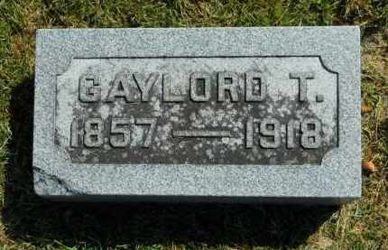 THRUSH, GAYLORD T. - Boone County, Illinois | GAYLORD T. THRUSH - Illinois Gravestone Photos