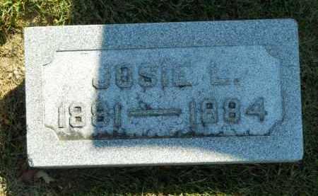 THRUSH, JOSIE L. - Boone County, Illinois   JOSIE L. THRUSH - Illinois Gravestone Photos