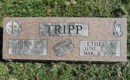 TRIPP, JOHN R. - Boone County, Illinois | JOHN R. TRIPP - Illinois Gravestone Photos