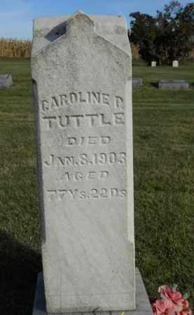 TUTTLE, CAROLINE - Boone County, Illinois | CAROLINE TUTTLE - Illinois Gravestone Photos