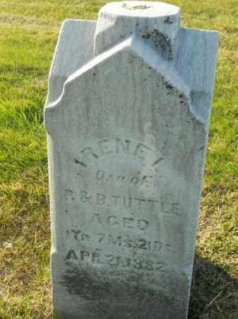 TUTTLE, IRENE L. - Boone County, Illinois | IRENE L. TUTTLE - Illinois Gravestone Photos