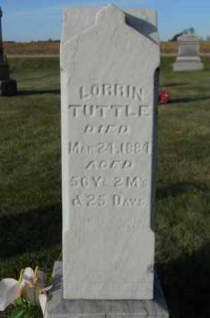 TUTTLE, LORRIN - Boone County, Illinois   LORRIN TUTTLE - Illinois Gravestone Photos