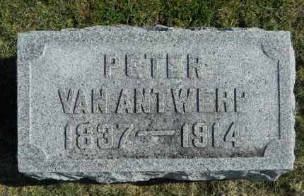 VANANTWERP, PETER - Boone County, Illinois | PETER VANANTWERP - Illinois Gravestone Photos