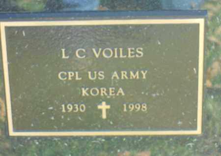 VOILES, L.C. - Boone County, Illinois | L.C. VOILES - Illinois Gravestone Photos