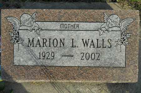 WALLS, MARION L. - Boone County, Illinois   MARION L. WALLS - Illinois Gravestone Photos