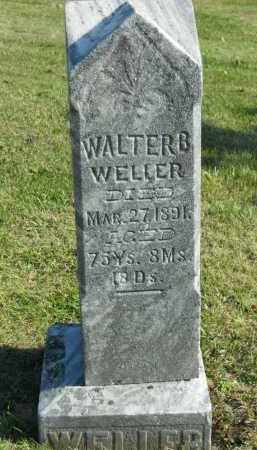 WELLER, WALTER B. - Boone County, Illinois | WALTER B. WELLER - Illinois Gravestone Photos