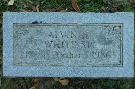 WHITE, ALVIN B. SR. - Boone County, Illinois | ALVIN B. SR. WHITE - Illinois Gravestone Photos