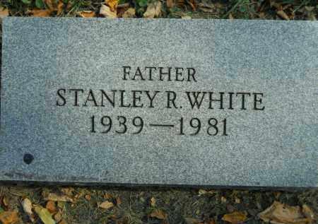 WHITE, STANLEY R. - Boone County, Illinois | STANLEY R. WHITE - Illinois Gravestone Photos