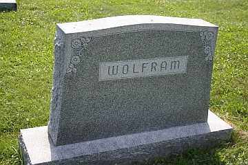 WOLFRAM, FAMILY STONE - Boone County, Illinois | FAMILY STONE WOLFRAM - Illinois Gravestone Photos